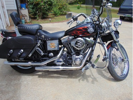 HARLEY DAVIDSON DYNA WIDE GLIDE, GARAGE KEPT, YOU MUST SEE IT AND HEAR IT TO APPRECIATE IT!